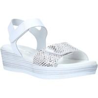 Schuhe Damen Sandalen / Sandaletten Valleverde G52163 Weiß