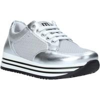 Schuhe Mädchen Sneaker Low Melania ME6254F0S.A Silber