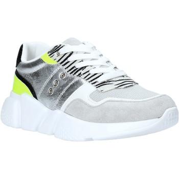 Schuhe Damen Sneaker Low Gold&gold A20 GA265 Silber