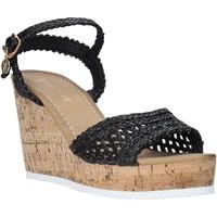 Schuhe Damen Sandalen / Sandaletten Gold&gold A20 GJ263 Schwarz