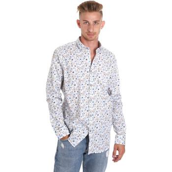 Kleidung Herren Langärmelige Hemden Sseinse CE491SS Weiß