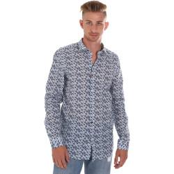 Kleidung Herren Langärmelige Hemden Sseinse CE508SS Blau