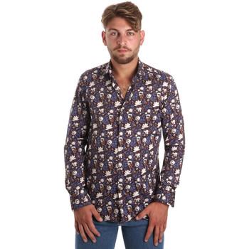 Kleidung Herren Langärmelige Hemden Betwoin SELZ 6635535 Blau
