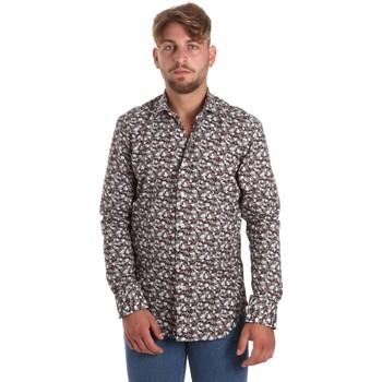Kleidung Herren Langärmelige Hemden Betwoin DIONISIOÙ Weiß