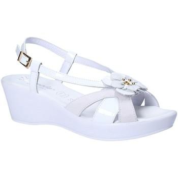 Schuhe Damen Sandalen / Sandaletten Susimoda 269743 Weiß
