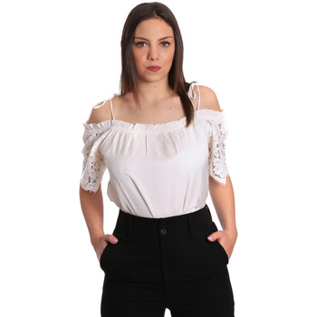 Kleidung Damen Tops / Blusen Gaudi 811FD45011 Beige