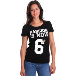 Kleidung Damen T-Shirts Gaudi 811FD64056 Schwarz