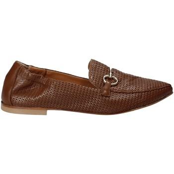 Schuhe Damen Slipper Mally 6264 Braun