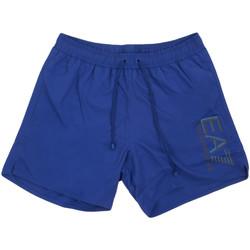Kleidung Herren Badeanzug /Badeshorts Ea7 Emporio Armani 902000 0P738 Blau