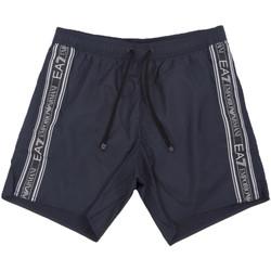 Kleidung Herren Badeanzug /Badeshorts Ea7 Emporio Armani 902000 0P734 Blau