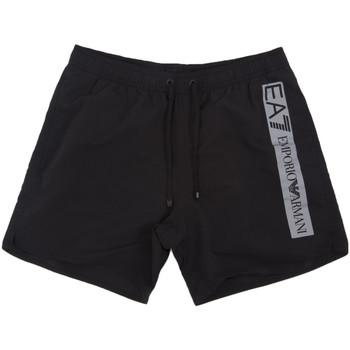 Kleidung Herren Badeanzug /Badeshorts Ea7 Emporio Armani 902000 0P732 Schwarz