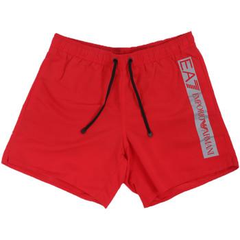 Kleidung Herren Badeanzug /Badeshorts Ea7 Emporio Armani 902000 0P732 Rot