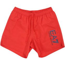 Kleidung Herren Badeanzug /Badeshorts Ea7 Emporio Armani 902000 0P738 Rot