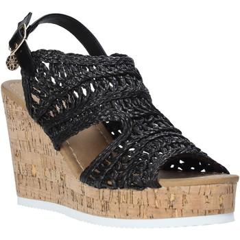 Schuhe Damen Sandalen / Sandaletten Gold&gold A20 GJ265 Schwarz