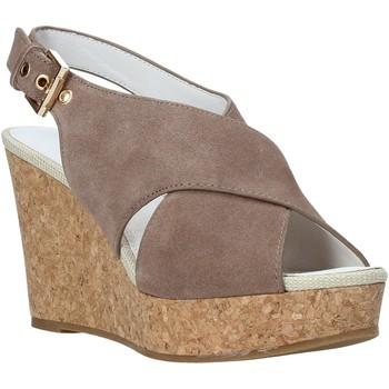 Schuhe Damen Sandalen / Sandaletten Lumberjack SW82106 003 A01 Braun