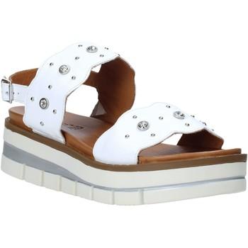 Schuhe Damen Sandalen / Sandaletten Grunland SA2545 Weiß