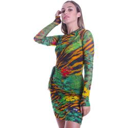 Kleidung Damen Kurze Kleider Versace D2HVB495S0782983 Schwarz