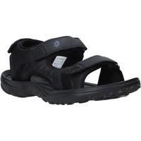 Schuhe Herren Sportliche Sandalen Lotto L52291 Schwarz