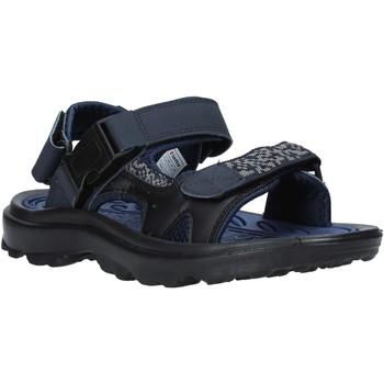 Schuhe Herren Sportliche Sandalen Lotto L52294 Blau