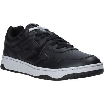 Schuhe Herren Sneaker Low Lotto L59015 Schwarz