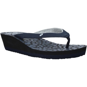 Schuhe Damen Zehensandalen Lotto L58326 Blau
