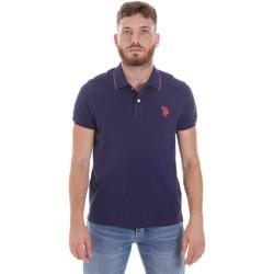 Kleidung Herren Polohemden U.S Polo Assn. 58561 41029 Blau