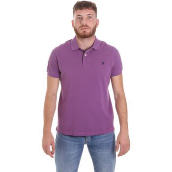 Kleidung Herren Polohemden U.S Polo Assn. 55957 41029 Violett