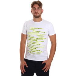 Kleidung Herren T-Shirts Antony Morato MMKS01749 FA120001 Weiß