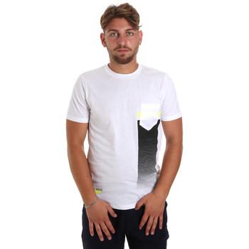 Kleidung Herren T-Shirts Antony Morato MMKS01794 FA100189 Weiß