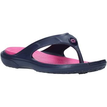 Schuhe Damen Zehensandalen Lotto L46823 Blau