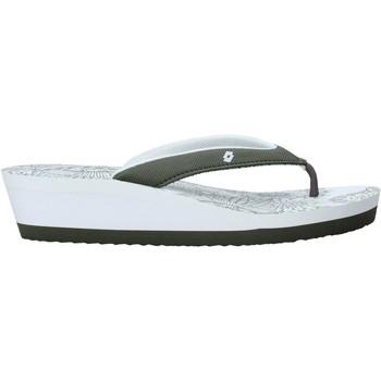 Schuhe Damen Zehensandalen Lotto L58326 Weiß