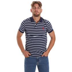Kleidung Herren Polohemden U.S Polo Assn. 56336 52802 Blau