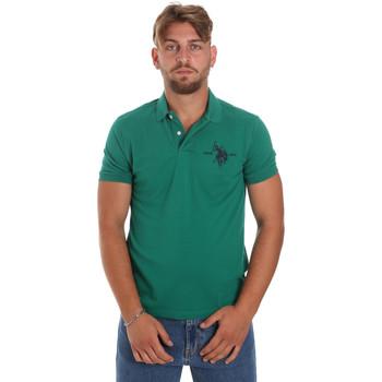 Kleidung Herren Polohemden U.S Polo Assn. 55959 41029 Grün