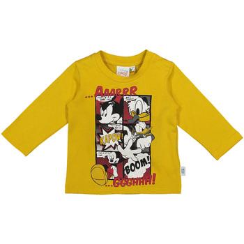 Kleidung Kinder Langarmshirts Melby 20C2040DN Gelb