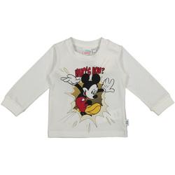Kleidung Kinder Langarmshirts Melby 20C2050DN Weiß