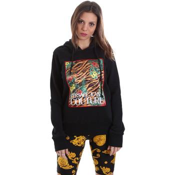 Kleidung Damen Sweatshirts Versace B6HVB70K30328899 Schwarz