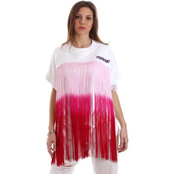 Kleidung Damen Sweatshirts Versace B6HVB76713956003 Weiß