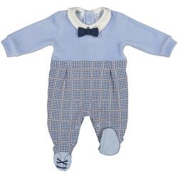 Kleidung Kinder Overalls / Latzhosen Melby 20N0140 Blau
