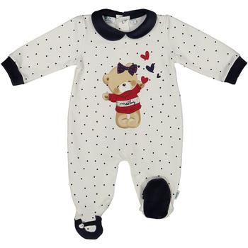 Kleidung Kinder Overalls / Latzhosen Melby 20N0681 Weiß