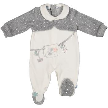 Kleidung Kinder Overalls / Latzhosen Melby 20N0781 Weiß