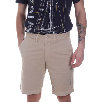 Kleidung Herren Shorts / Bermudas U.S Polo Assn. 57319 49492 Beige