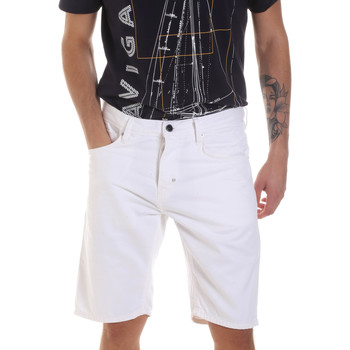 Kleidung Herren Shorts / Bermudas Antony Morato MMSH00152 FA900123 Weiß