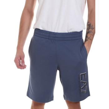 Kleidung Herren Shorts / Bermudas Ea7 Emporio Armani 3HPS73 PJ05Z Blau