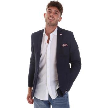 Kleidung Herren Jacken / Blazers Sseinse GAE606SS Blau