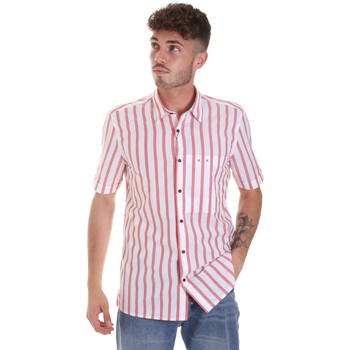 Kleidung Herren Kurzärmelige Hemden Antony Morato MMSS00154 FA420084 Rot