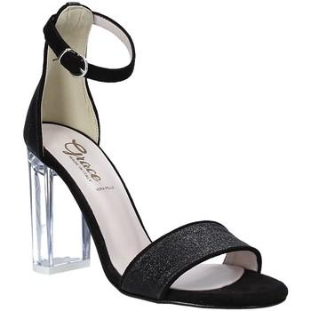 Schuhe Damen Sandalen / Sandaletten Grace Shoes 018TR003 Schwarz