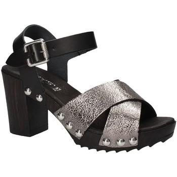 Schuhe Damen Sandalen / Sandaletten Keys 5864 Grau
