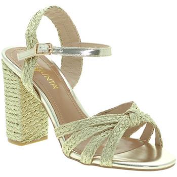Schuhe Damen Sandalen / Sandaletten Pregunta ICD1719-9 Gold