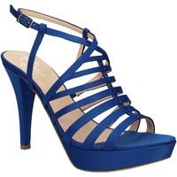 Schuhe Damen Sandalen / Sandaletten Grace Shoes 2078 Blau