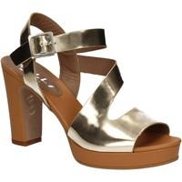 Schuhe Damen Sandalen / Sandaletten Mally 5180 Gold